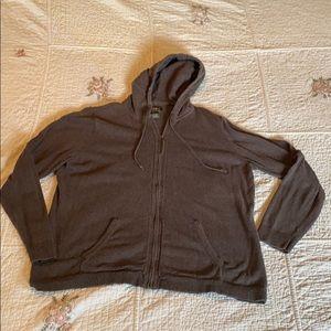 Soft cozy comfy Eddie Bauer cotton cashmere blend